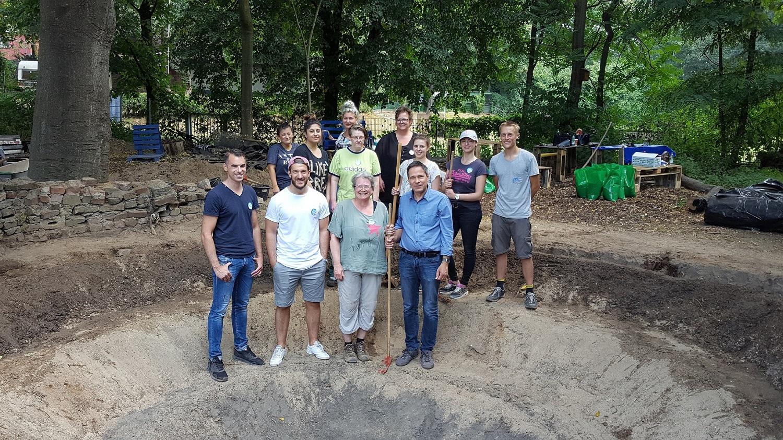Lidl Mitarbeiter Engagierten Sich Bei Freiwilligentagen An Zwei