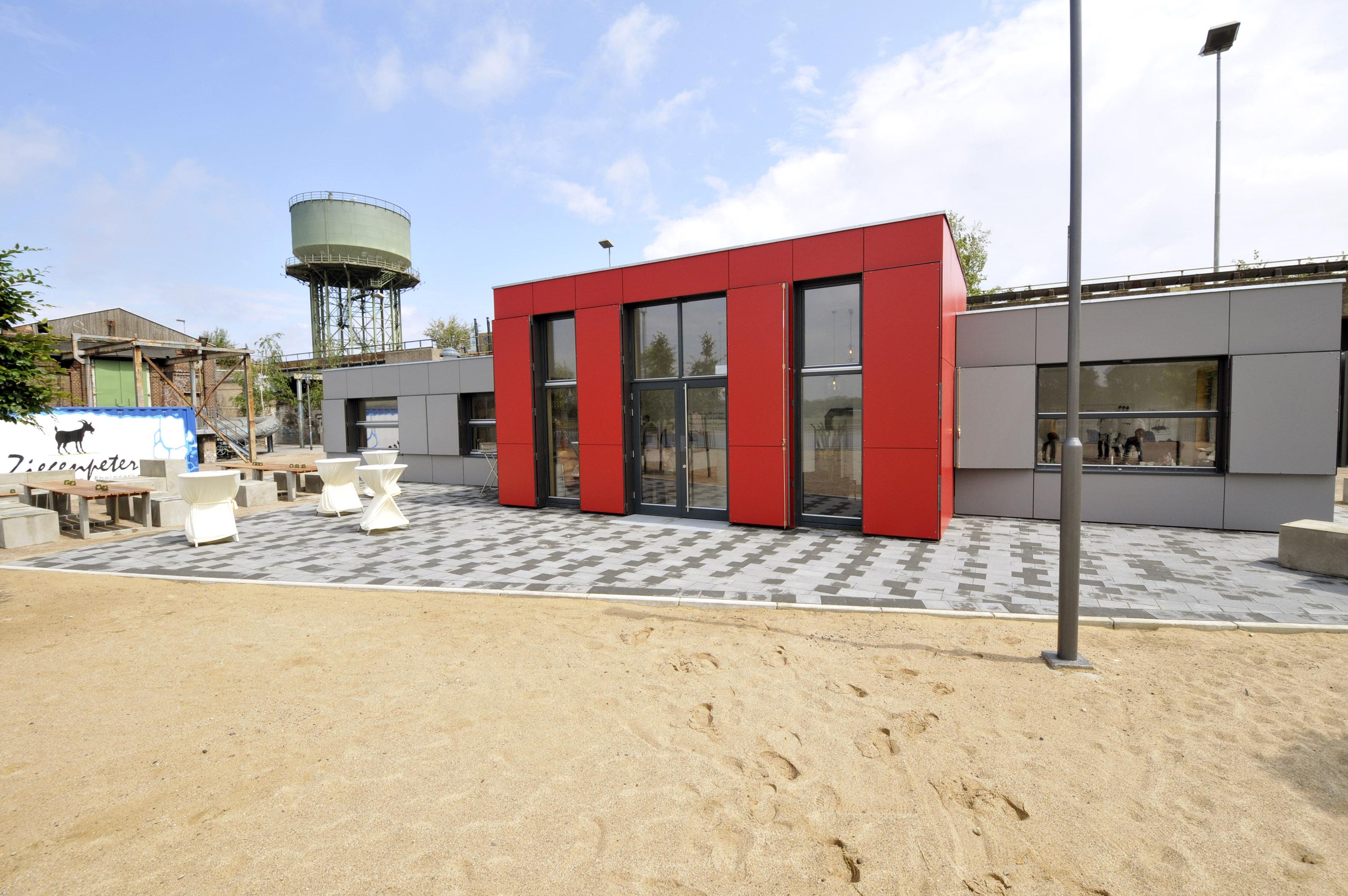 ziegenpeter die neue attraktion im rheinpark stadt duisburg. Black Bedroom Furniture Sets. Home Design Ideas