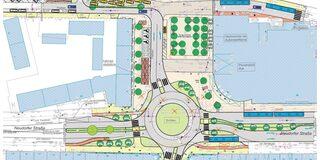 HBF Osteingang - Entwurfsplanung