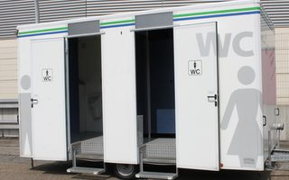Mobile Toilettenanlage