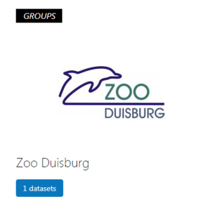 Logo Zoo Duisburg im Open Data Portal