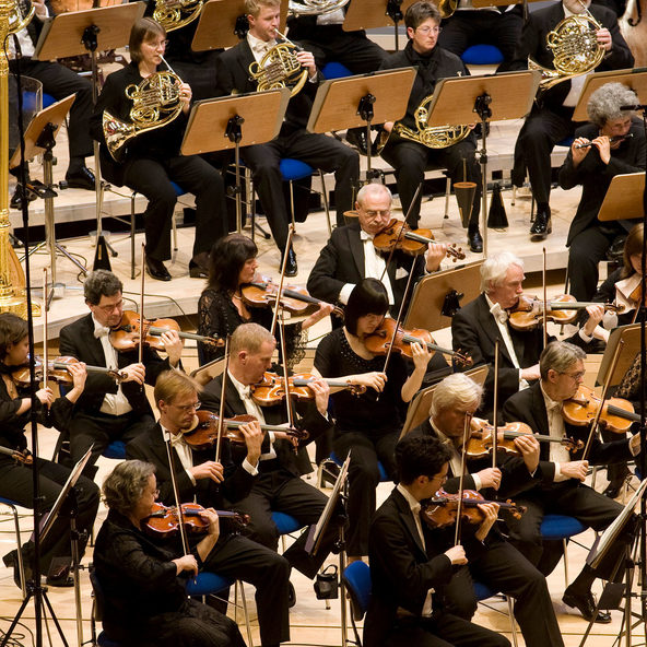The Duisburg Philharmoniker in concert
