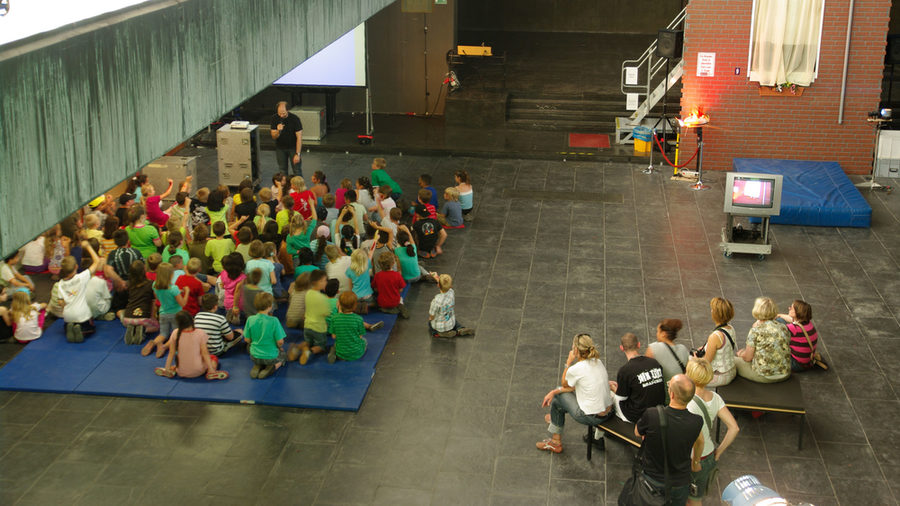 A film event as part of the KinderKulturFestival
