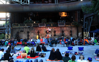 Cultural event in the Landschaftspark